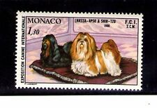 Monaco Exposición Canina fauna perros serie del año 1980 (AI-640)