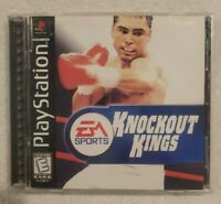 COMPLETE Knockout Kings 2000 (Sony PlayStation 1, PS1 1999) Game Case Manual CIB