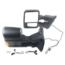 Left + Right electric heating/rear view mirror with turn signal for Ford F250
