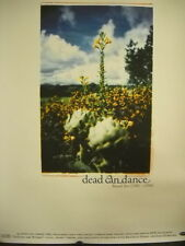 DEAD CAN DANCE Large Promo Poster from BOX SET 1981-1998 SUPER MINT CONDITION