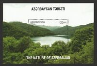 AZERBAIJAN 2017 NATURE SCENERY (LAKE GOYGOL) SOUVENIR SHEET OF 1 STAMP IN MINT