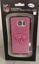 NFL Jacksonville Jaguars Football Pebble Grain Feel Case Samsung G S VI