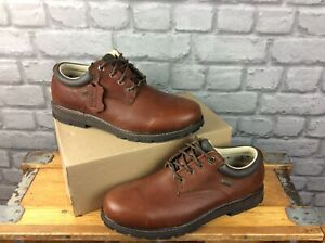 BRASHER MENS COUNTRY CLASSIC BROWN LEATHER WALKING SHOES RRP £125 MANY SIZES