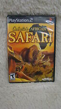 2006 Sony Playstation 2 - Cabela's African Safari Rated T for Teen Video Game