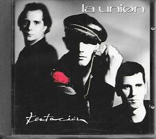 LA UNION - Tentacion CD Album 11TR Spanish Pop 1990 (WEA)