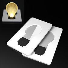 Light Pocket Wallet Size Lamp White Portable Creative Credit Card LED Bulb New