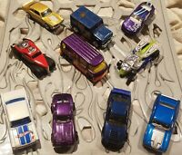 Hot Wheels Lot Of 10 Cars 9645 motorhome Armored truck Draggin Tail Ford Falcon