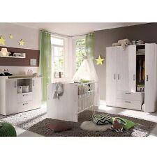 Babybett Babyzimmer komplett Wickelkommode Kinderzimmer Set NEU Komplettzimmer