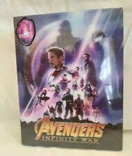 Avengers Infinity War Blufans Single Lenticular 3D&2D Blu Ray Steelbook New WEA