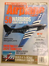Model Airplane News Magazine 50 Warbirds P-51 Stagger September 2001 041517nonrh