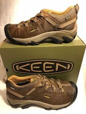 Keen Targhee II WP Cascade Brown/Golden Yellow Boot Hiker Men's sizes 7-17 NEW!!