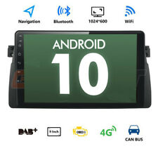 """For BMW E46 Rover 75 Android 10.0 9"""" Radio Player GPS SAT NAV Stereo 4G BT DAB"""