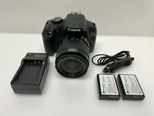 Canon - EOS Rebel T7 DSLR Video Camera with 18-55mm Lens - Black