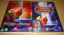 Sword In The Stone DISNEY #18 DVD & LIMITED EDITION O RING SLIP COVER SLEEVE NEW