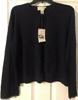 Norton McNaughton Cardigan Sweater Size L - Blue