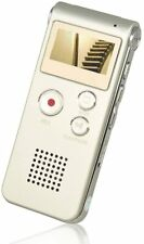 More details for portable and extremely lightweight 8gb memory digital voice recorder silver usb