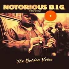 NOTORIOUS B.I.G. - THE GOLDEN VOICE (INSTRUMENTALS) (COLOUR 2 VINYL LP NEW!