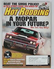 Popular Hot Rodding Magazine Vol 45 No 7 2005 July Water/Alcohol Injection