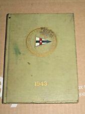 1943 BOSTON YACHT CLUB YEARBOOK. MA maritime nautical history society vintage