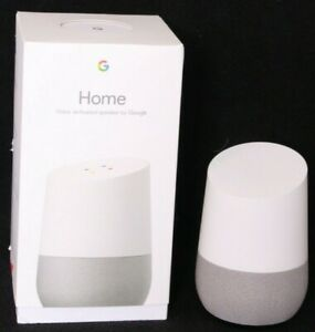 NEW Google Home White Wi-Fi Support Chromecast Built-In Voice-Activated Speaker