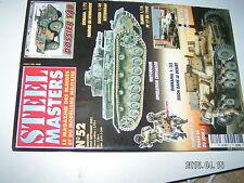 ** STEEL MASTERS n°52 Blindés soviétique Armée allemande / Opération Crusader