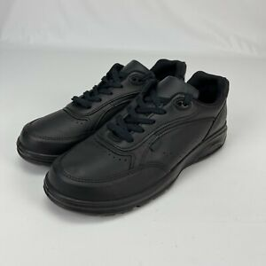 New Balance Mens Postal Black Lace Up Walking Shoes Sneakers Size 9.5 MK706BK2