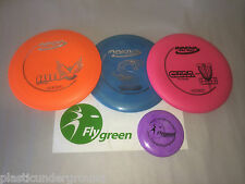 FRISBEE GOLF INNOVA DELUXE BEGINNER SET OF 3 DISCS + MINI.  YOU PICK THE DISKS!!