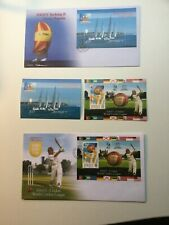 Jersey FDC and Minisheet selection unmounted in mint condition 15  sets Bargain