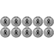 10x Set EOS Silver Cryptocurrency Collectors Coin