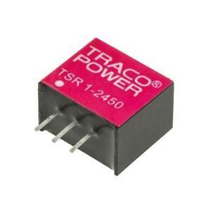 1 x TRACO Switching Regulator TSR 1-2450, 6.5-36V dc Input, 5V Output, 1A 7805
