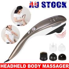 Full Body Handheld Massager - Grey/White