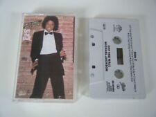Michael Jackson Excellent (EX) Condition Album Music Cassettes