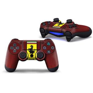 Playstation 4 PS4 Full Controller Skin Ferrari