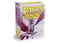 Dragon Shield Matte Pink – 100 Standard Size Card Sleeves