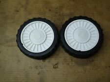 MOUNTFIELD HP/SP/HOMELITE  LAWNMOWER REAR DRIVE WHEELS (MAY FIT OTHERS)