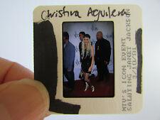 More details for original press photo slide negative - christina aguilera - 2001 - q