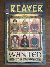Reaver #1 2019 Retailer Variant Image Comic Book