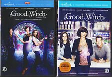 GOOD WITCH SEASON 1 & 2 DVD COMPLETE TV SERIES NEW WITH CATHERINE BELL,