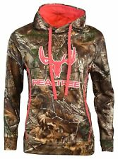 80206cc4a3c5e8 Realtree Women's Cottonwood Canyon L/S Pull Over Hoodie