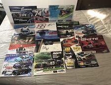Huge Lot Of NASCAR Pinty's Series Driver Autographs Jason White Shantel Kalika