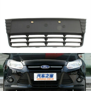 Front Center Lower Bumper Grille Grill Cover Fit For FORD Focus  MK III 12-14