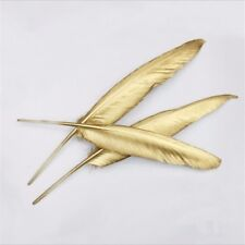 DIY Smart 10 pieces latest golden geese/duck feathers 10-15cm/4-6 inch feathers