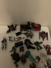 Transformer Action Figure Lot And MISCELLANEOUS Parts