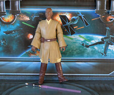 Figura De Star Wars Legado Colección Mace Windu Jedi