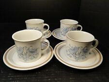 FOUR Royal Doulton Inspiration Tea Cup and Saucer Sets LS1016 4 EXCELLENT!