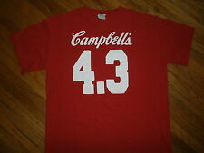 CAMPBELLS SOUP 4.3 JERSEY T SHIRT mmm good pop art can chunky chicken noodle MED