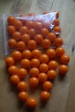25 x ARANCIO Paintball, munizioni per Pocket Shot & simili catapulte & si Fionda
