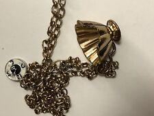 Disney Couture Alice In Wonderland Mad Hatter Chip Teacup Necklace