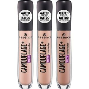 Essence Camouflage + Matte Concealer Waterproof Covers Tattoos Dark Circles 5ml