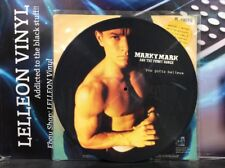 """Marky mark and the funky bunch YOU GOTTA BELIEVE 12"""" picture disc vinyle rap années 90"""